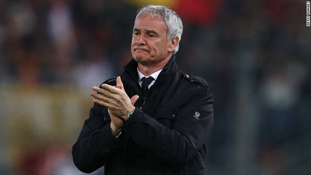 Inter Milan are the 12th club of Claudio Ranieri's 24-year coaching career.