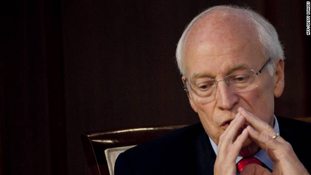 Former Vice President Dick Cheney, in a discussion in Washington this month, talks about working in the White House after 9/11.