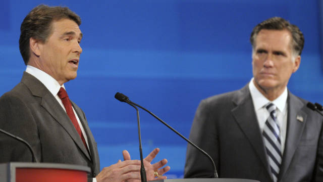 The relationship between Texas Gov. Rick Perry and former Massachusetts Gov. Mitt Romney may get a lot more disagreeable.