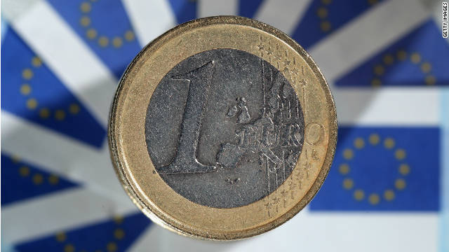 The euro, a currency binding 17 European nations, is under pressure due to the eurozone's debt crisis.
