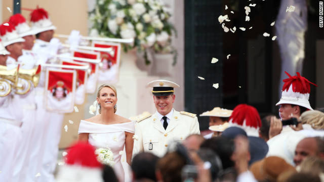 This year's wedding between Princess Charlene and Prince Albert of Monaco attracted celebrity guests ranging from royalty to supermodels.