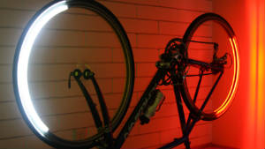 Revolights make cyclists stand out 