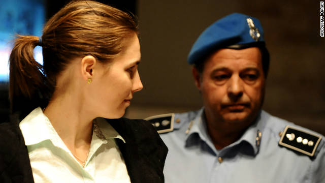 Amanda Knox returns to court in Perugia on Saturday.