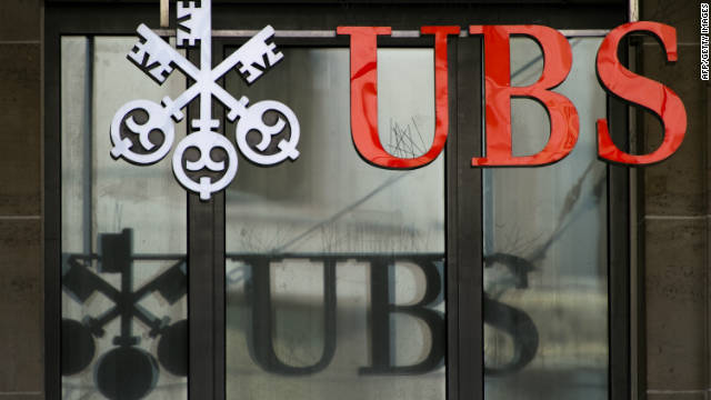 UBS chief resigns after $2.3B scandal