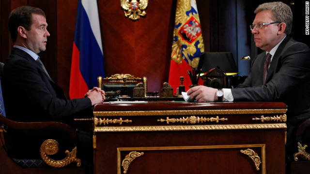 Report: Russian finance minister resigns after dispute with president