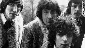Pink Floyd, then led by Syd Barrett, front, put out its first album in 1967.