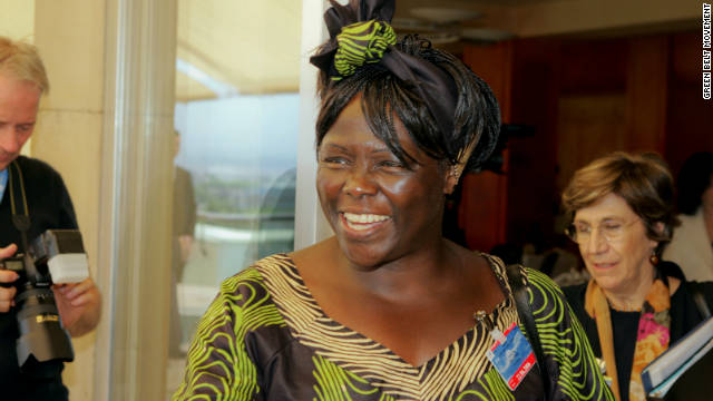 Kenyan environmentalist and human rights activist, Wangari Maathai has died at the age of 71