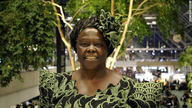 Fallece la Premio Nobel africana Wangari Maathai