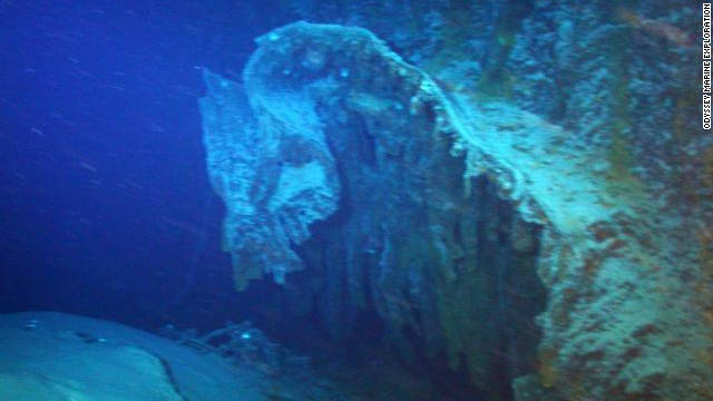 It was hit by a torpedo from a German U-Boat after becoming separated from its convoy in bad weather.
