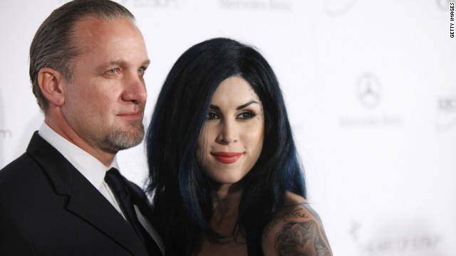 Jesse James and Kat Von D split again