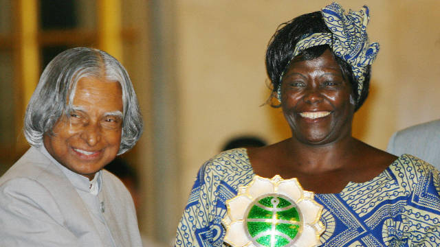 In 2007, Maathai received the prestigious Jawaharlal Nehru Award for International Understanding, administered by the Indian Council for Cultural Relations. Previous recipients of the award include Martin Luther King Jr., Mother Teresa, Indira Gandhi and Nelson Mandela.
