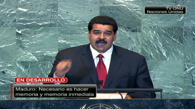 El gobierno de Venezuela presenta informe de DD.HH. ante la ONU