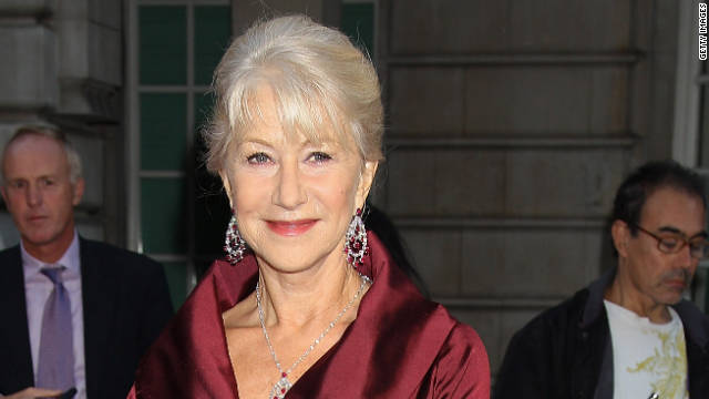 Helen Mirren's 'contribution to ecology'