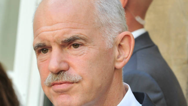 PM George Papandreou was speaking as Greece was braced for strikes against the government's austerity program.