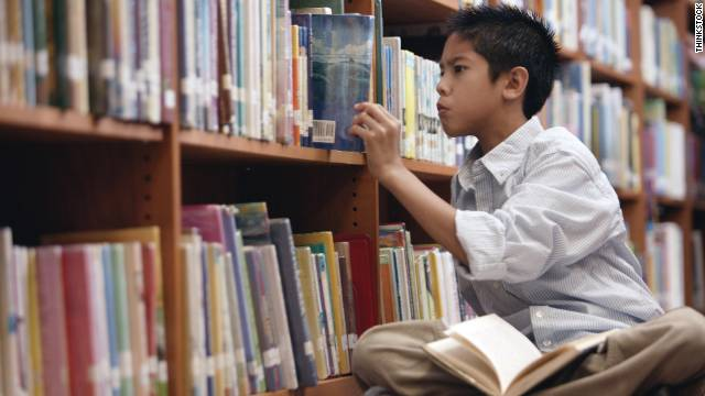 Overheard on CNN.com: Turn off the TV and give your kid a book