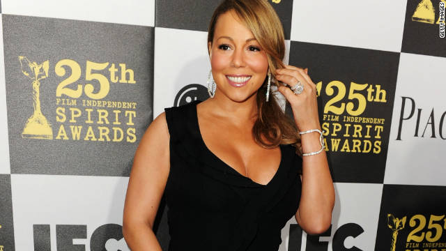 Mariah Carey's back in the studio
