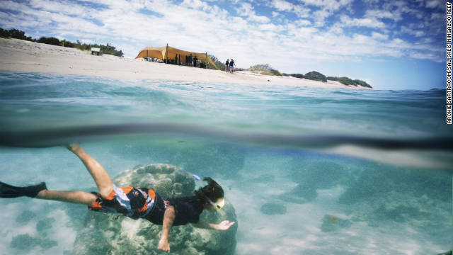 Sea kayaking, snorkeling and guided walks are among the activities included in Sal Salis' rates.
