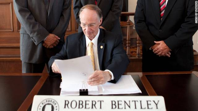 Alabama Gov. Robert Bentley said while he is open to some tweaks to the law, he wants the core of it to remain in tact.