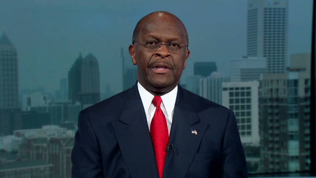 Herman Cain said, 