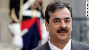 Pakistani Prime Minister Yousuf Raza Gilani created the Parliamentary Committee on National Security last November.