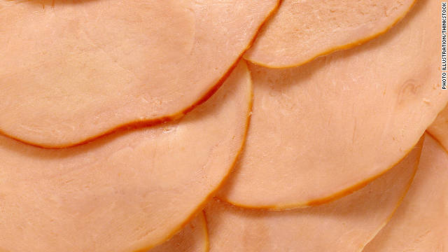 <a href='http://cid.oxfordjournals.org/content/42/1/29.full' target='_blank'>Listeria-infected sliced turkey</a> killed eight and infected 46 others in 2002. Three pregnant women had fetal deaths. Two processing plants recalled 30 million pounds of meat following the outbreak.