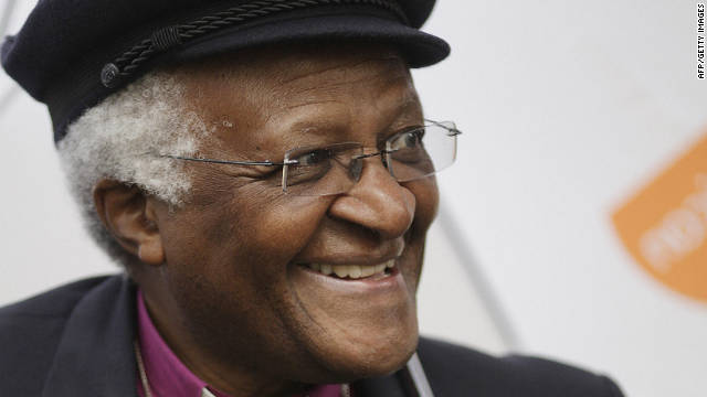 Or is it Desmond Tutu -- the archbishop who received the Nobel Prize for Peace for his role in the opposing apartheid in South Africa?