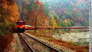 Fabulous fall foliage train rides