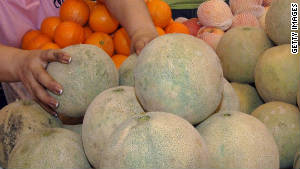 Cantaloupes were considered the cause of the outbreak.