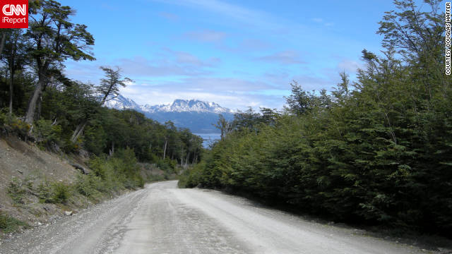 "Douglas Haffer captured this view of Tierra del Fuego. ""I have traveled to all continents and seen nearly 100 countries, but there is something otherworldly about Tierra del Fuego. It is such a unique environment that it is among my favorite places."""