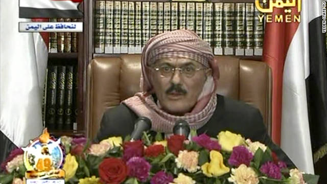 President Ali Abdullah Saleh returned to Yemen after medical treatment in Saudi Arabia.