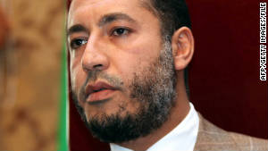 Saadi Gadhafi, son of ousted Libyan leader Moammar Gadhafi, fled to Niger, southwest of Libya.