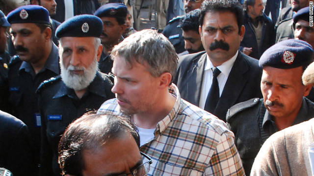Raymond Davis, seen here in a January 2011 photo, was arrested on charges that he killed two men in Pakistan.