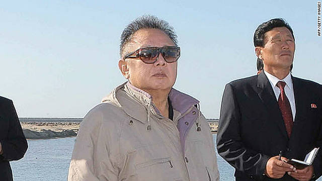 North Korean leader Kim Jong Il is shown in an undated photo released by North Korea's official news agency on October 4, 2011.