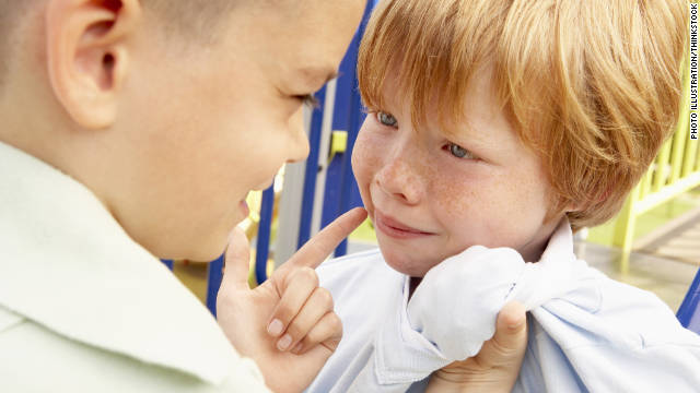 Working with children on their confidence level at an early age can    Kid Getting Bullied