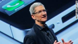 Apple\'s Tim Cook has inherited Steve Jobs\' role as chief Apple pitchman.