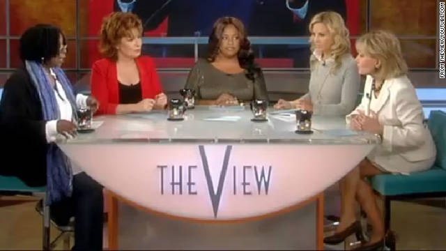 Tension on 'The View' over use of 'N' word