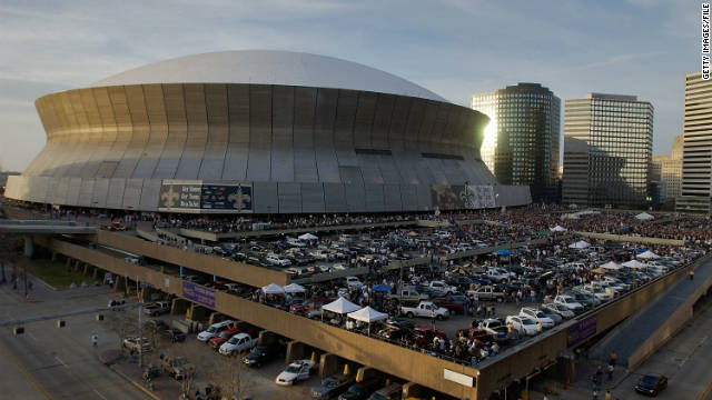 Superdome gets a new name