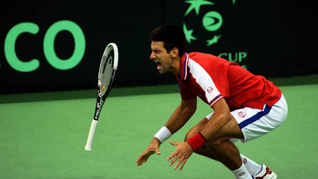 World number one Novak Djokovic feels the pain of his long season during Serbia's Davis Cup semifinal with Argentina. Andy Murray and Andy Roddick are amongst those who believe top players are becoming injured more frequently because of the amount of matches they play.