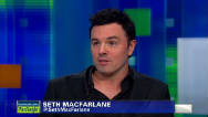 "Seth MacFarlane's ""beef"" with Jon Stewart"