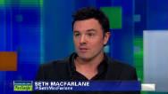 "Seth MacFarlane's ""beef"" with Jon Stewart"