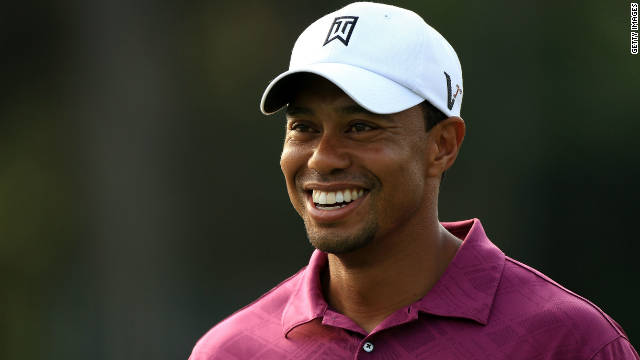 Former world No. 1 Tiger Woods still has plenty to smile about off the golf course despite his slump in form.