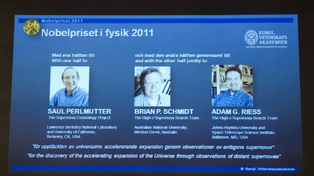Nobel prizes awarded for research on universe's expansion