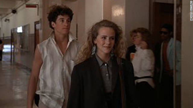 "Patrick Dempsey's nerdy Ronald Miller makes a deal with cool girl Cindy Mancini (Amanda Peterson) in ""Can't Buy Me Love."" Miller gives Mancini cash, and, in exchange, she pretends to date him for one month. (Spoiler alert: Swagger coaches often fall for their pupils.)"