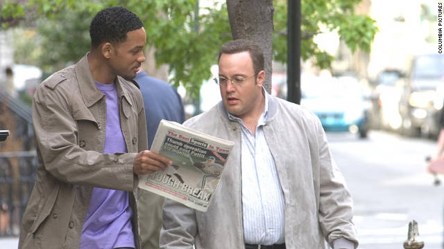 "Will Smith plays the ultimate swagger coach in ""Hitch"" as date doctor Alex Hitchins. He helps clueless men, like Kevin James' character Albert Brennaman, court the women of their dreams."