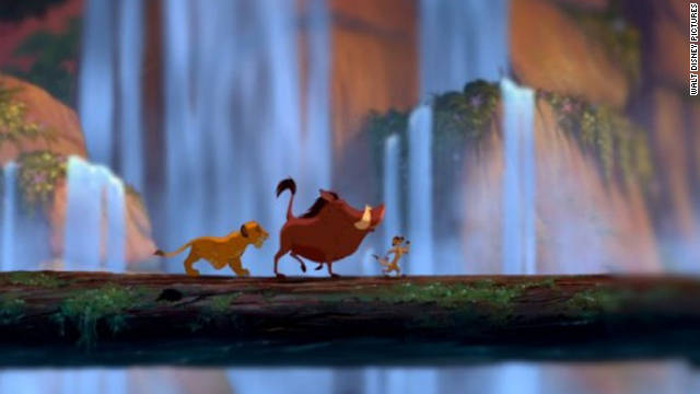 "When Simba flees the animal kingdom in ""The Lion King,"" he has to learn to survive on his own. With help from his new friends Timon and Pumbaa, Simba gains the life skills and confidence he needs to thrive in the jungle."