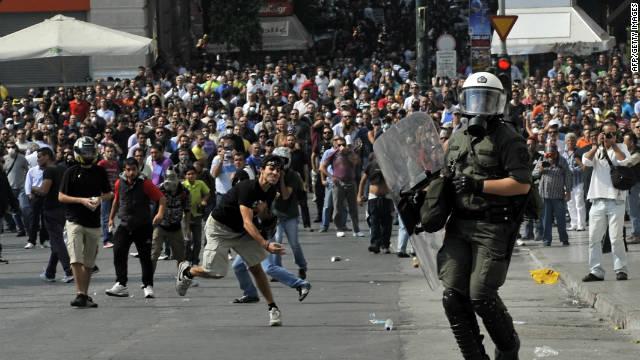 Grecia se paraliza por una huelga general