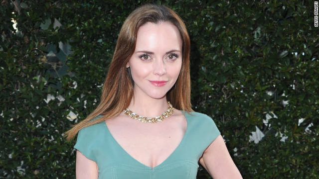 Christina Ricci enjoys reading books