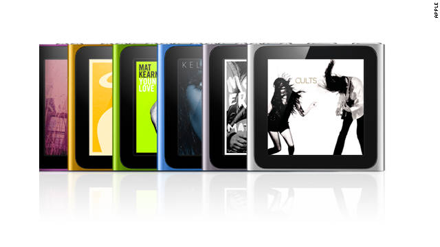 The iPod Nano got an update and price cut at Tuesday's iPhone-dominated Apple event.
