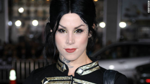 Kat Von D&#039;s recording an album