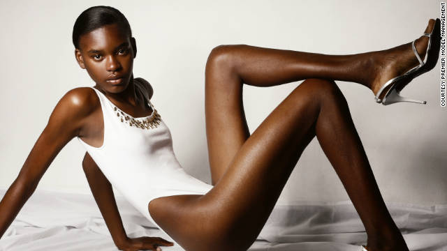 Jamaican model Sosheba Griffiths (pictured) says that things are looking good for diversity in the fashion world.
